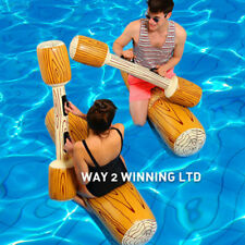 8F17 Float Pool Bumper 4Pcs/Set Inflatable Joust Pool Game Sport Toy Row Water
