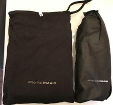 NEW Eva Air Royal Laurel Class black Pajamas Sleeper L size + slippers by ApuJan