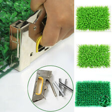 Artificial Turf Simulation Green Plants Fake Lawn Landscaping Wall Grass Mat  LM