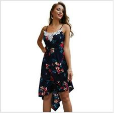 Women's  Floral Cocktail Maxi Dress Summer Party Evening Long Beach Sundress