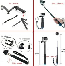 Selfie Pole Stick Monopod Holder Extendable Handheld for GoPro Hero 5 6 7 SJ4000