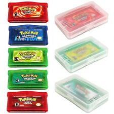 Game Boy Cartridge Games Card Carts For Pokemon GBC/GBM/GBA/SP/NDSL 5 Colors+Box