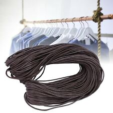 90 Yards Brown Waxed Thread Nylon Cord DIY Wrapping Tag Woven Rope Accessories
