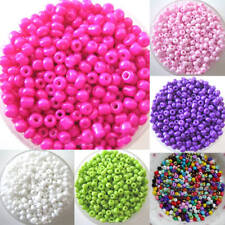 CG_ ALS_ 1200Pcs 2mm Round Czech Glass Seed Spacer Loose Beads Jewelry DIY Makin