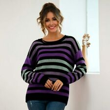 Long Sleeve Tops Knitwear Knit Shirt Pullover Knitted Casual Sweater Jumper