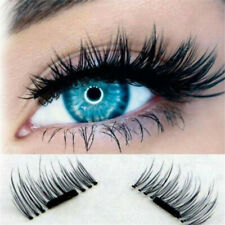 Charm 3D Magnetic False Eyelashes No Glue Handmade Natural Extension Eye Lashes