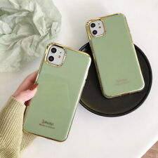 For iPhone 11 Pro Max XS X XR 8 7 6 Plus Luxury Plating Soft Silicone Case Cover