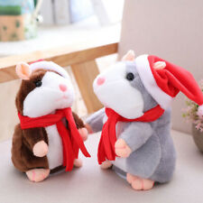 Electronic Pet Cheeky Hamster Interactive Buddy Plush Toy Sound Gift Christmas