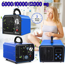 6000/10000/12000mg/h Ozone Generator Commercial Air Purifier Home Car Deodorizer