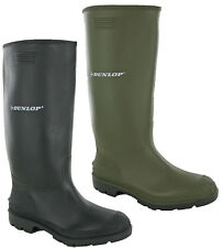 MENS DUNLOP RUBBER WELLINGTON BOOTS WELLIES 7 8 9 10 11