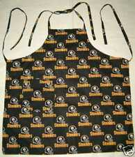 APRON CHEF BBQ COOK MADE W NFL TEAMS COTTON FABRICS FOOTBALL SPORTS NEW YOU PICK
