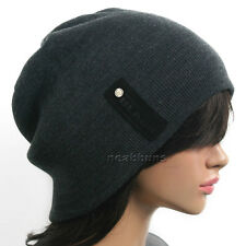 NEW chic BEANIE for men women Knit Ski Skull Hat bkbl