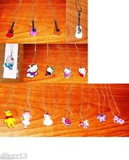 Hello Kitty, Pooh, Heart, Valentine Pendants- Pick 1 !
