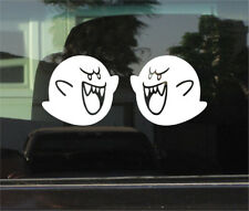 BOO SUPER MARIO BROTHERS VINYL DECAL / STICKER PAIR