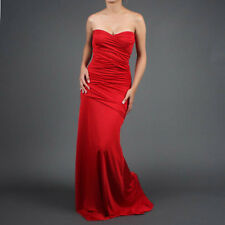 Strapless Party Gown Evening Cocktail Long Maxi Dress