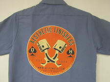 Aesthetic Finishers Crossed Pistons Hot Rod Workshirt