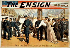 TH76 Vintage Ensign Play Theatre Poster Print A1 A2 A3