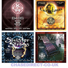 ELECTRIC GUITAR STRINGS & BASS & ACOUSTIC LONG LIFE COATED STRING KERLY SINISTER