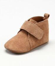 New In Box Cole Haan Baby Boys Camel Suede Paul Strap Booties Shoes 12 18 24 Mos