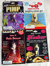 New GROW YOUR OWN Hooker/Pimp/Pole Dancer/Naughty School Girl PARTY GIFT-JOKE