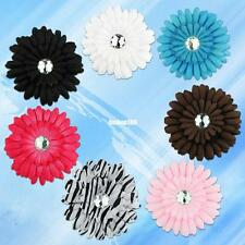 NEW HOT DAISY FLOWER BABY TODDLER GIRL HAIR BOW CLIP Crochet headband GIRL Baby