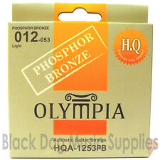 Olympia High Quality Phosphor Bronze Wound Acoustic Guitar Strings