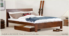 King Size Chelsea Bed - Wooden Bed Frame - by Get Laid Beds