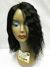 "14"" 100% INDIAN REMI WET N WAVY HUMAN HAIR WEAVE WEFT EXTENSION 2 WAY STYLE"