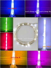 1 pc 10 led Wire Wedding Underwater Light for Eiffel Tower Vase Decor Floral