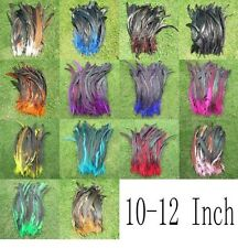 New 50Pcs OVER BADGER SADDLE ROOSTER FEATHERS ltos colors 10-12inch long U pic k