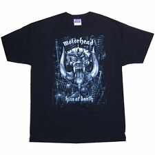 MOTORHEAD KISS OF DEATH ALBUM COVER IMAGE BLK T-SHIRT NEW LICENSED ALL SIZES