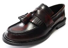 Mens Ikon Vintage Retro Mod all Leather SELECTA Loafers Size 6 to 12s 2 Colours