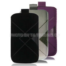 Soft Fabric Cloth Pull Up Tab Case Pouch For Nokia C5-00 X3-02 C1-01 6303i