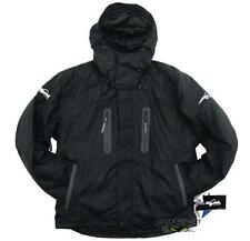HMK USA Men's Stealth Soft Shell Snowmobile Jacket - Black - New - 460-3002_
