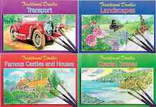 TRADITIONAL DOODLE COLOURING PAINTING SKETCH BOOKS FOR OLDER CHILDREN & ADULTS