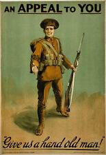 WA46 Vintage WWI Irish Appeal To You War Recruitment Poster Re-Print WW1 A4