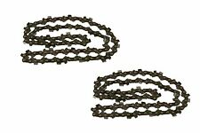 Pack Of 2 Chainsaw Chains Fits MITOX - Choose Your Model & Size From The Box