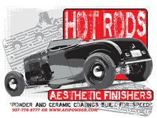 Aesthetic Finishers 1932 Ford HI-Boy Hot Rod T-Shirt