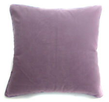 EM62 Lilac Plain Flat Velvet Style Cushion Cover/Pillow Case *Custom Size*
