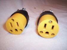 Electrical plugs Female 125V 3 Prong 15 AMP Extension Cord ends wholesale NEW