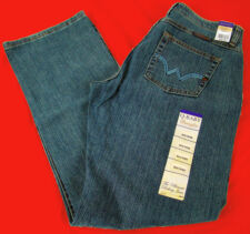 Womens Wrangler Q-Baby Mid Rise Boot Cut Apache Storm WRQ20AP Jeans Any Size