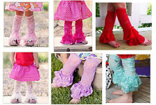 Ruffle Infant Toddler Kids Girls Baby Leggings Socks Leg Warmers Stockings