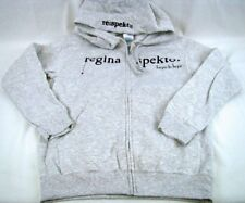 Womens Regina Spektor Gray Hooded Sweater Zip Jacket NWT Any Size S M L XL