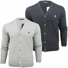 French Connection FCUK Mens Cotton Button Up Cardigan