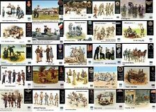 Masterbox - 1/35 WWII Infantry & Civilians