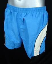 TRESPASS BLUE CONTRAST STRIPE SURF/SWIM SHORTS MED, ASS SIZES AVAILABLE
