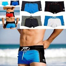 1PC Mens Slim Swimwear Trunk Swimsuit Beach Swim Pants Shorts Bikini Boxer Brief