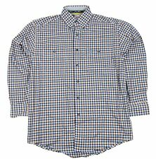 Mens NWT Wrangler George Strait Long Sleeve Button Down Shirt MGS18RM Any Size
