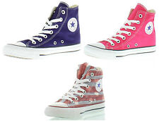 New Converse Trainers All Star Hi Womens Boots Ladies Shoes Size UK 4-9