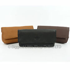 New Soft LEATHER TOBACCO POUCH Rolling Cigarette Lined Quality Item
